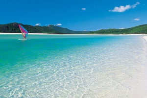 Whitehaven Beach, архипелаг Уитсанди, Aвстралия